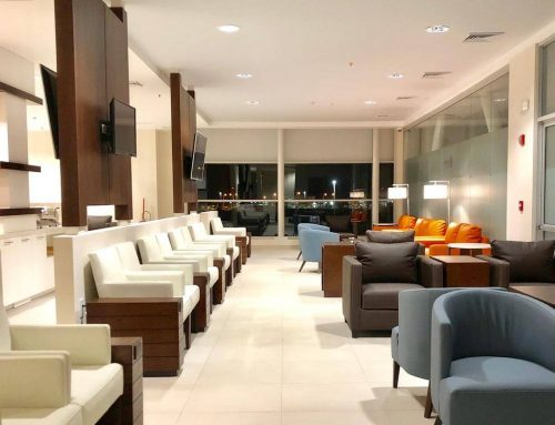Daniel Oduber International Airport opened its new V.I.P. lounge