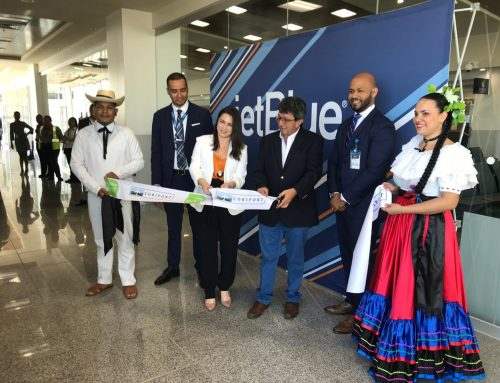 Liberia became the first Latin American city to receive prestigious JetBlue flight with Mint service