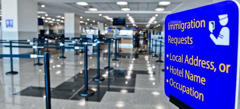 Inmigration - Guanacaste Airport