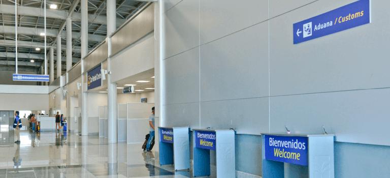 Aduanas en Guanacaste Aeropuerto